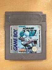*** Konami golf *** Nintendo Gameboy *** módulo *** l @ @ k!!!
