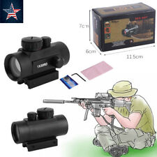 Red Green Dot Sight Scope Tactical Reflex Laser 30mm for Rifle Picatinny Rail WI