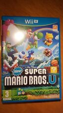 SUPER MARIO BROS. U -  Only on NINTENDO Wii U. All booklets, maps included.