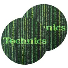 TECHNICS SLIPMATS coppia di panni sottodisco per giradischi (MATRIX)