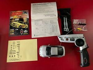 XMODS Super Street Acura NSX RC Remote Control Car w/ Case & Accessories Silver