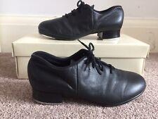 Bloch Black Leather Split Sole Tap Shoe US Size 4.5 UK Size 1.5 Tap Flex RRP £50