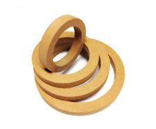 "16mm MDF Ring 165mm / 6,5"" / 16,5cm Lautsprecher Holzring Montagering Adapterrin"