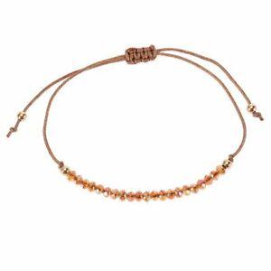 Fashion Lucky Crystal Bead Handmade Bracelet Adjustable Friendship Bangle Gifts