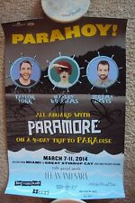 SIGNED Paramore PARAHOY Poster - Exclusive to the 2014 PARAHOY Cruise!
