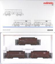 Märklin HO #48444 Gustave Boël Iron Ore Transport 3 Car Set, N/BX Sold 1998 only