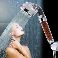 High Pressure Water Saving Shower Head Ionic Handheld Filtration Hand Showerhead