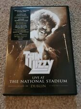 Thin Lizzy Live At The National Stadium Dublin Dvd Mint