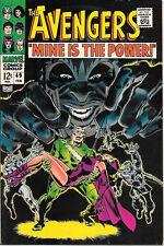 The Avengers Comic Book #49, Marvel Comics Group 1968 NEAR MINT