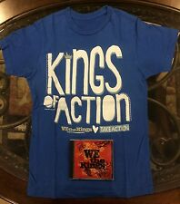 *SIGNED* We The Kings S/T CD T-Shirt RARE All Time Low Paramore Mayday Parade
