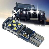T10 Car Bulbs LED Error Free Canbus Cob Xenon Smd White Side Light Bulb New