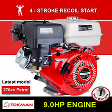 9HP Petrol Engine OHV Stationary Motor Horizontal Shaft Recoil Start 9.0 Gokart