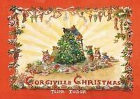Tasha Tudor Corgiville Christmas 1st Edition Hard Cover with Dust Jacket