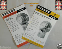 TILLEY LAMP AL620 SPECIFICATIONS AND SPARE PART LIST LEAFLET
