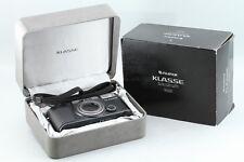 Fujifilm Klasse Black 35mm Compact Film Camera With Original Box