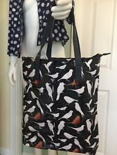 Navy Bird Robin Bag with Purse BNWT