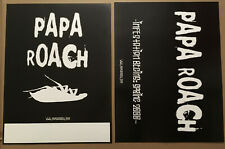 Papa Roach Rare 2000 Double Sided Thick Stock Paper Promo Poster for Infest Cd