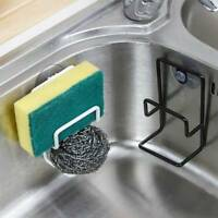 Suction Cup Base Brush Sponge Sink Towel Rack Kitchen Washing Tool Holder