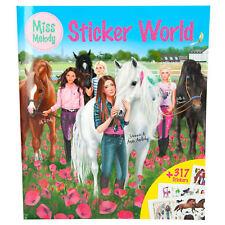 Miss Melody Sticker World Mal- und Stickerbuch mit 317 Aufklebern Depesche 8784