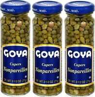 Goya Spanish Capers Alcaparras 2.25 oz. Pack of 3
