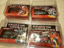Hasbro Transformers Vintage G1 Lot Sideswipe-Ironhide-Mirage-Hound 1984