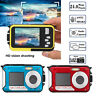 Double Screen 1080P HD 24MP Waterproof Digital Video Camera DV Action Camcorder