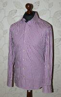 Eton Ganghester 1928 mens contemporary fit shirt Size 15 3/4, 40