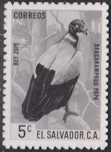 El Salvador Sc741 Wildlife, King Vulture, Bird, Photo Proof, MH