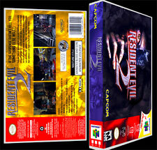 Resident Evil 2 - N64 Reproduction Art Case/Box No Game.