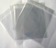 Square Clear Cello Bags With Self Seal Strip - 100 Pack