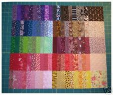 lot de 100 coupons de tissu patchwork multicolores