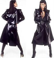 IMPERMEABLE LATEX SEXY - FETISH RUBBER COAT - GOTHIQUE
