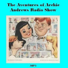 * ARCHIE ANDREWS (OTR) OLD TIME RADIO SHOWS * 51 EPISODES on MP3 CD * FAMILY FUN