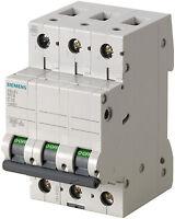 Siemens Sicherungsautomat Leitungsschutzschalter 5SL6332-6 32A TypB 3polig 1 Stk