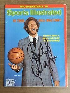 BILL WALTON signed SPORTS ILLUSTRATED 10-15-1979 Autograph BAS Beckett
