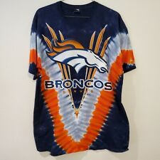 New listing NFL Team Apparel Denver Broncos NFL Football All Over Print T Shirt Size XL