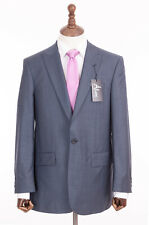 Para Hombre Azul Savile Row Traje por Alexandre of London 42R W36 L31 RRP £ 310
