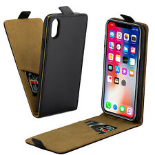 Black Leather iPhone X XS Case Shock-absorbing Slim Soft Rubber Case Cover