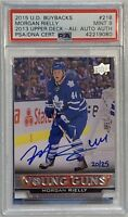 2013 2014 U.D. Morgan Rielly AUTO YOUNG GUNS BUYBACKS RC ROOKIE PSA/DNA 9 #20/25