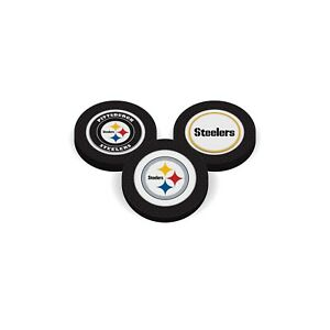 Team Golf Pittsburgh Steelers  Poker Chip With Magnetic Ball Marker  2 Sides