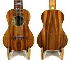 Alulu Solid Acacia Koa Tenor Classical Head Guitarlele Dots Inlay HU1499@!