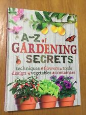 Reader's Digest ~ A-Z OF GARDENING SECRETS ~ Excellent Condition HC