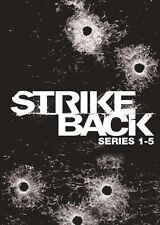 Strike Back . The Complete Series 1-5 . Season 1 2 3 4 5 . 14 DVD . NEU