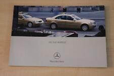 68137) Mercedes C-Klasse W203 E-Klasse W211 Taxi Prospekt 07/2003