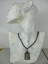 Altes Phra-Somdej Buddha Amulett Jade 925 Silber 1 RUBIN Halskette Thailand 1970