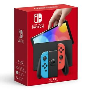 Nintendo Switch OLED Model Handheld Console Red & Blue Joy-Con 64GB *Pre-Order*