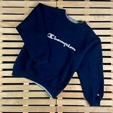 Mens Sweatshirt Champion Vintage Big logo Size L