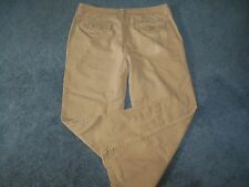 Urban Pipeline Men 34X30 Beige Khaki Chinos Casual Pants Nice Quality Flat Front