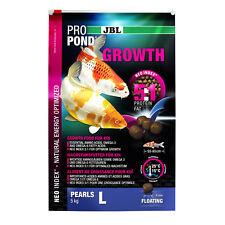2 Pièces JBL Propond Croissance L,X 2 5,0 kg,Wachstumsfutter pour Grands Koï