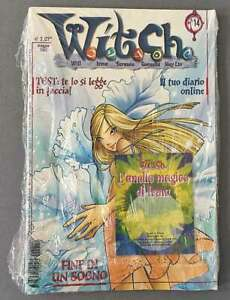 W.i.t.c.h. Magazine - May 2002 - #14 in Italian - NEW - WRAPPED
